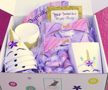 Unicorn Dog Birthday Mini Party Box - Pawty Box