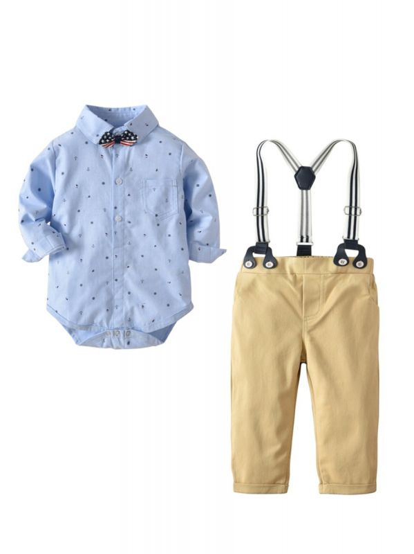 Super Fly Baby Romper & Trouser Set
