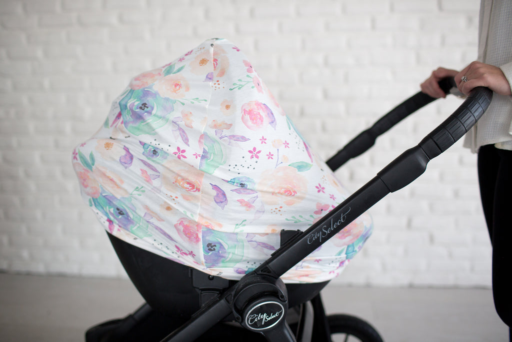 The Bloom 5-in-1 Nursing and Carseat Cover