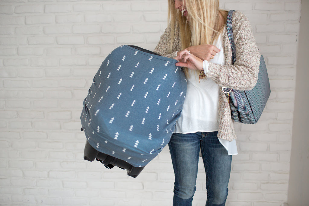 The North 5-in-1 Nursing and Carseat Cover