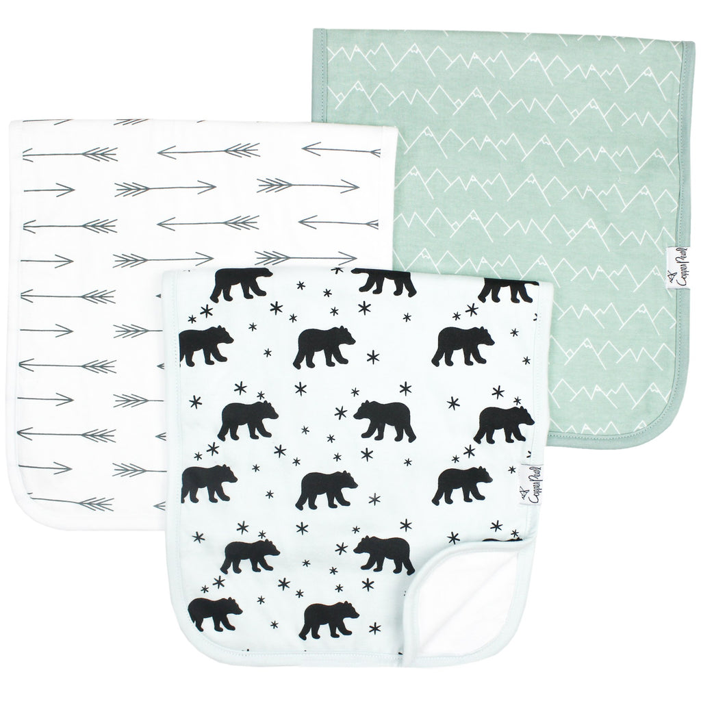 Archer Burp Cloth Set (3-pack)