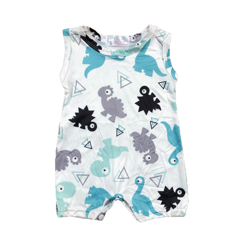 Dinosaur Shorty One-Piece
