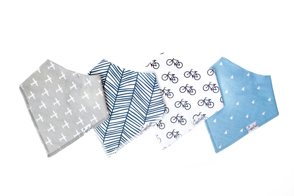 Cruise Baby Bandana Bib Set (4-pack)
