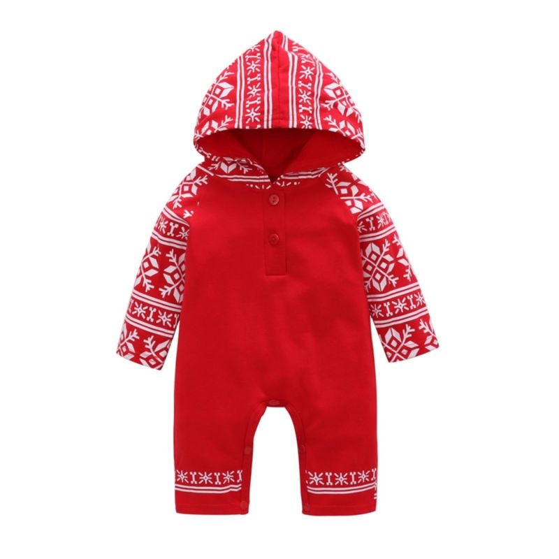 Christmas Hooded Jumpsuit