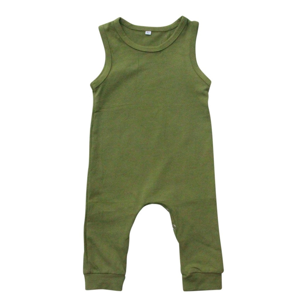 Olive Tank One-Piece