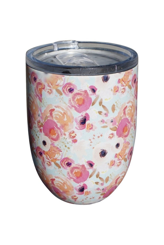Fun Floral Cup Coral Rose