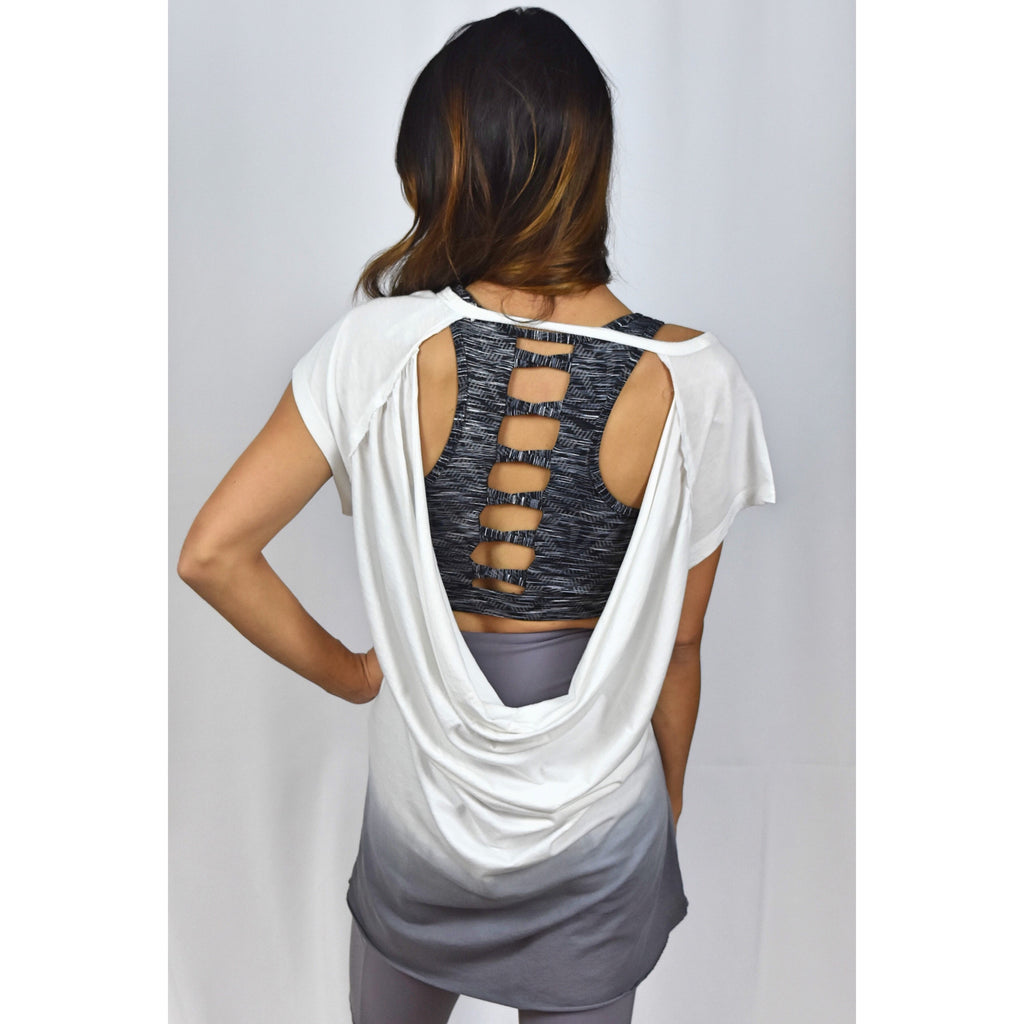 Ombré Open Back Top