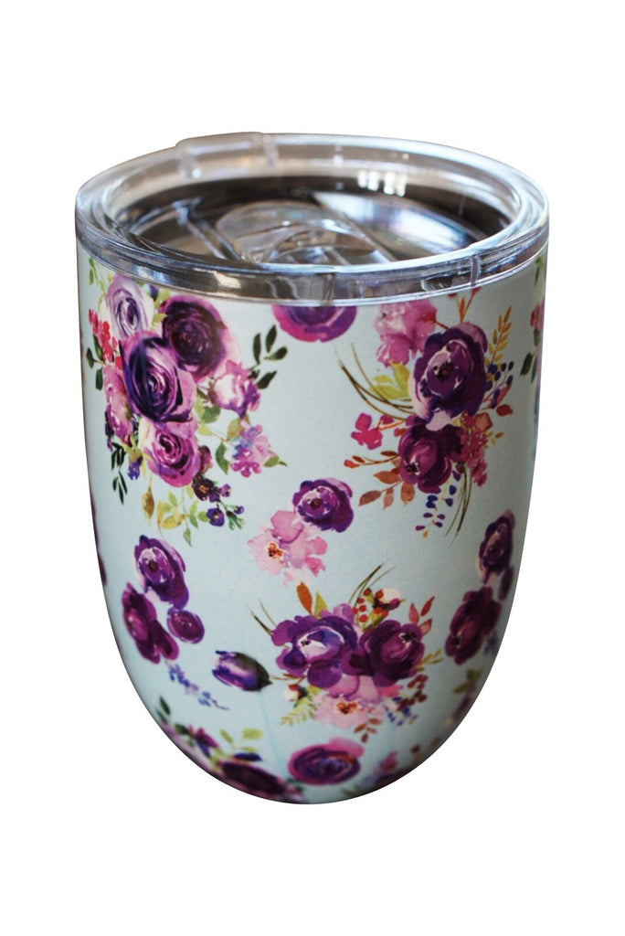 Fun Floral Cup Purple Rose