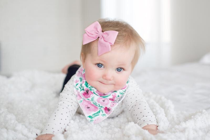 Baby Bandana Bibs Bloom