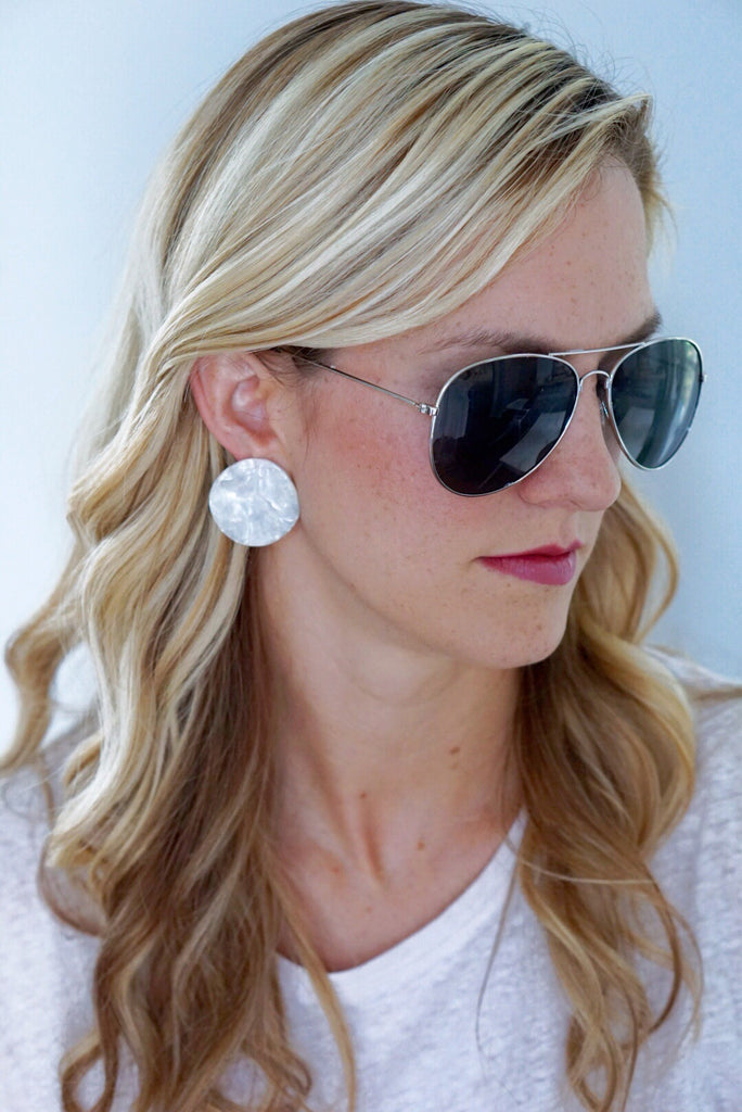 Circle the Beach Earrings