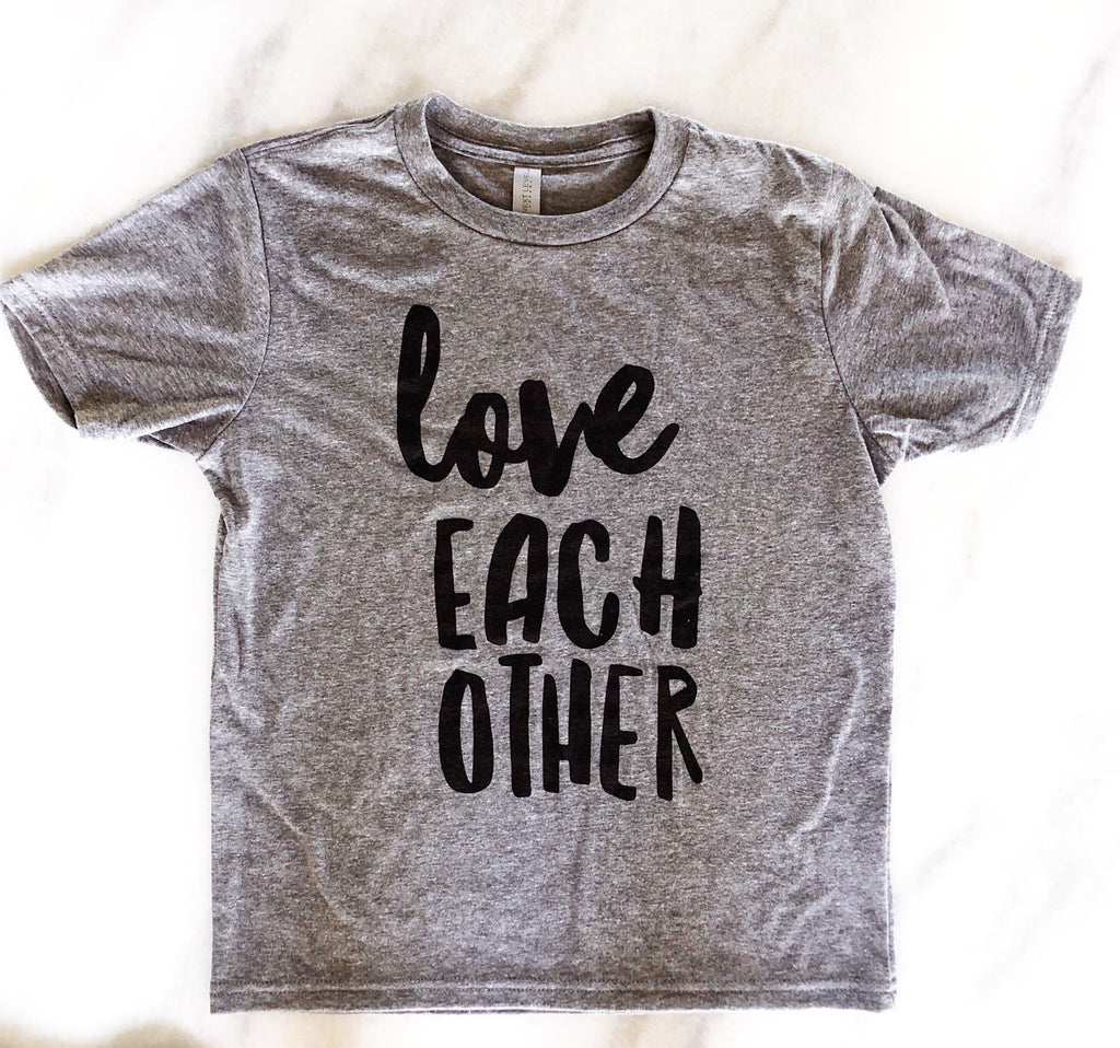 Love Each Other Youth T-shirt