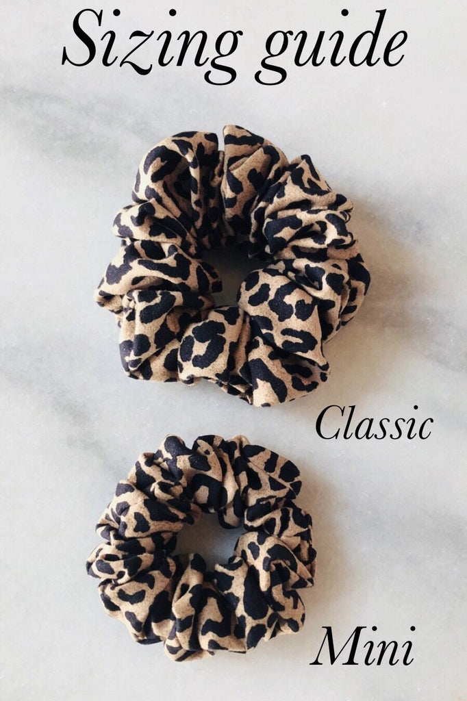 Chasing Waves Scrunchie