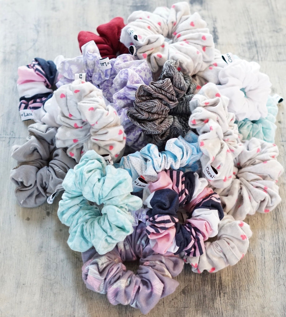20+ Custom Team Scrunchies