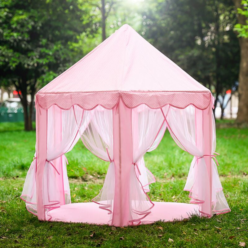 Outdoors House Kids Curtain Portable Kids Kids Play Outdoor Curtains Garden Foldable Toys Tent Pop Up Kids Girl Princess Castle