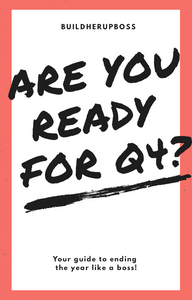 Are you ready for Q4?