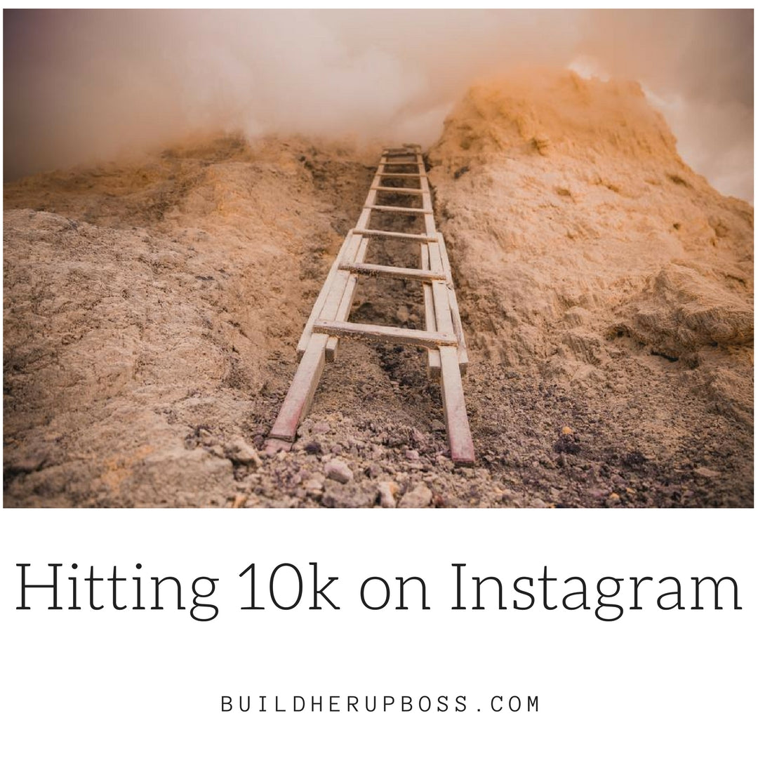 Hitting 10k on Instagram