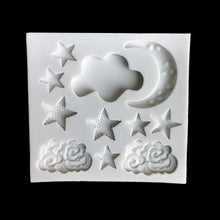 Load image into Gallery viewer, Star Moon Silicone Cake Mold DIY Fondant - Kaya Kitchen