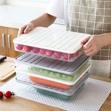 Load image into Gallery viewer, Freezer Storage Containers Food Storage Container Fridge Organizer Case Stackable Keep Fresh for Storing Fish Meat Vegetables - Kaya Kitchen