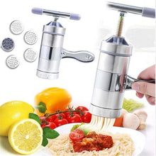 Load image into Gallery viewer, Manual Noodle Maker Pressing Maker Machine with 5Pcs Mold - Kaya Kitchen