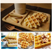 Load image into Gallery viewer, Nonstick Waffle Makers DIY Heart Shape for Kids Metal Waffle Mould Bakeware Set - Kaya Kitchen