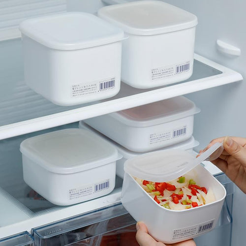 Plastic Refrigerator food and grain Storage container - Kaya Kitchen