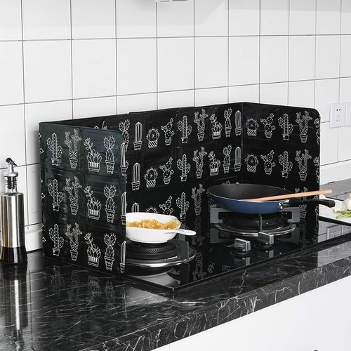 Frying Pan Oil Splash Guard Frying Pan Oil Splash Protection Screen Cover - Kaya Kitchen