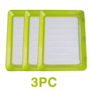 6Pcs Creative Fresh Food Preservation tray
