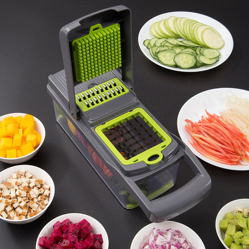 5 in 1 Food Vegetable Salad Fruit Peeler Cutter Slicer