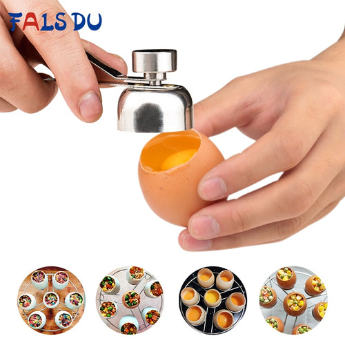 Egg Shell Opener Stainless Steel