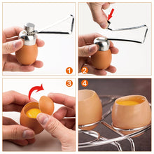 Load image into Gallery viewer, Egg Shell Opener Stainless Steel