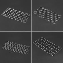 Load image into Gallery viewer, DIY Cake Plastic Transparent Texture Lattic Mat Cake Border Decorating Tools Cake Mold Fondant Gumpaste Stencil Molds Moulds - Kaya Kitchen