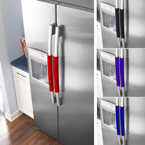 Handle Covers; Decor Smudges Door Refrigerator Fridge Oven Skid Resistance - Kaya Kitchen