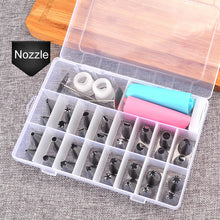 Load image into Gallery viewer, 38 Pcs Cake Decorating Nozzles and Bags - Kaya Kitchen