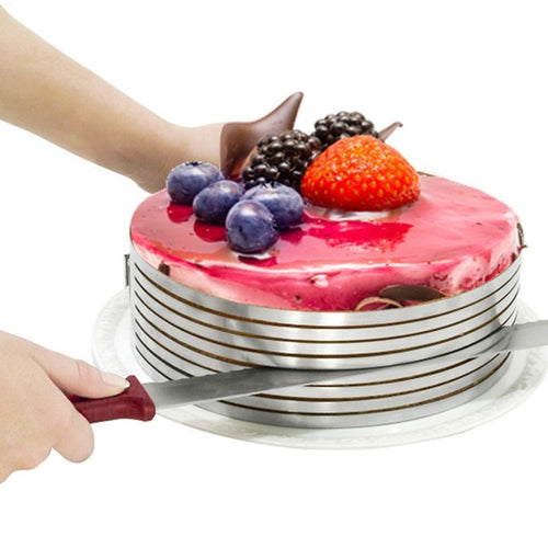 Stainless Steel Adjustable Layered Cake Slicer - Kaya Kitchen