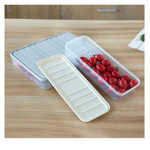 Freezer Storage Containers Food Storage Container Fridge Organizer Case Stackable Keep Fresh for Storing Fish Meat Vegetables - Kaya Kitchen