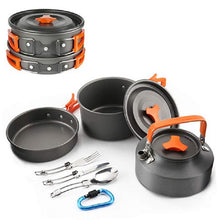 Load image into Gallery viewer, Outdoor Camping Aluminum Alloy Cookware Pots and Kettle - Kaya Kitchen
