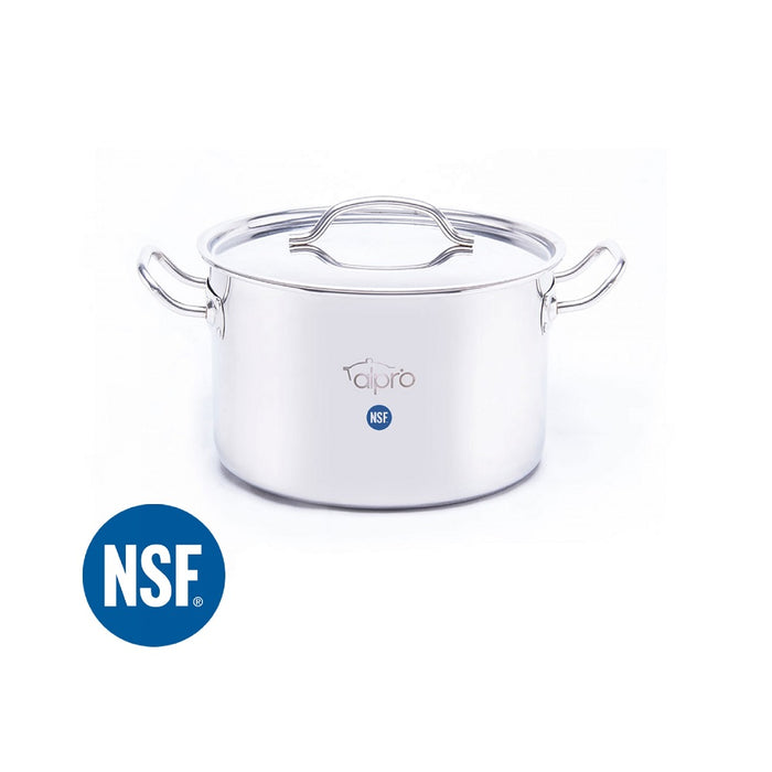 Media Olla 1071022 Alpro 22 lt Acero inoxidable 410, calibre 18, NSF