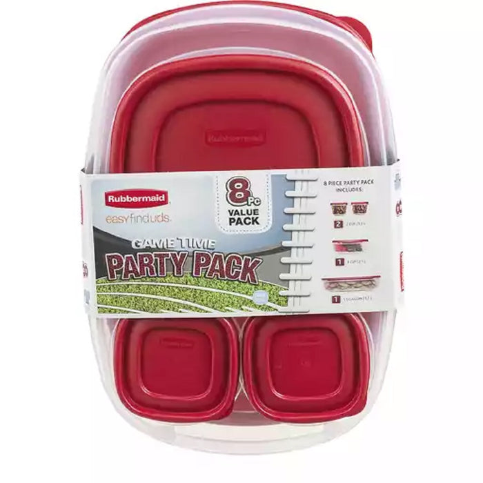 Set de contenedores herméticos Party Pack Rubbermaid 8 piezas