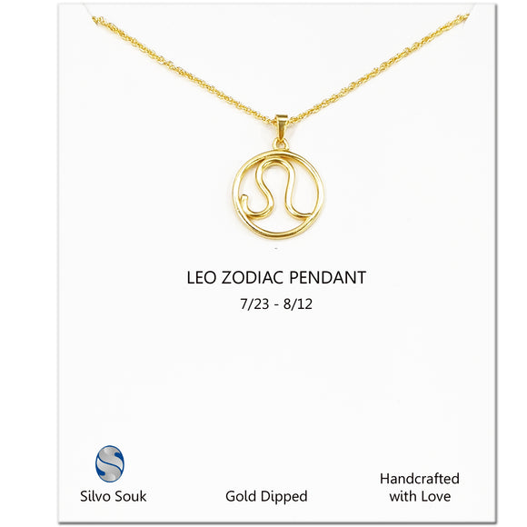 Leo Sign Necklace