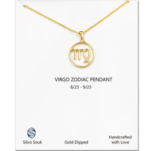 Virgo Sign Necklace