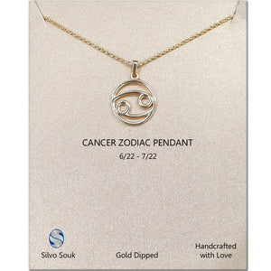 Zodiac Pendant For Cancer