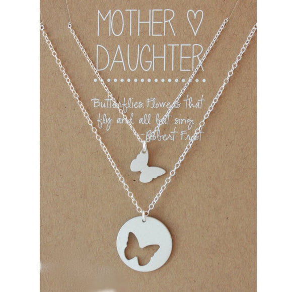 Butterfly Mother Daughter Jewelry