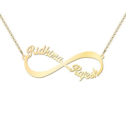 Infinity Love Name Necklace