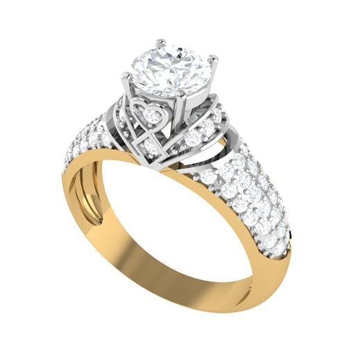 Pinnacle Solitaire Gold