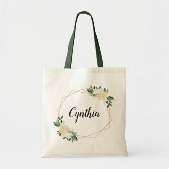 Fiora Name Tote Bag