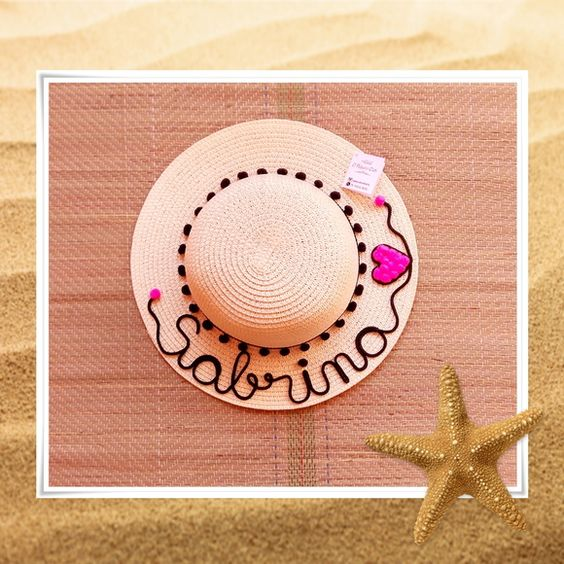 Customizable Pink Love Hat