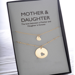 Love Mother Daughter Jewelry