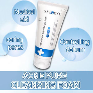 SKINEYEACPURECLEANSINGFOAM/ControllingSebum/caringpores/Medicalaid/Improves dry and rough skin