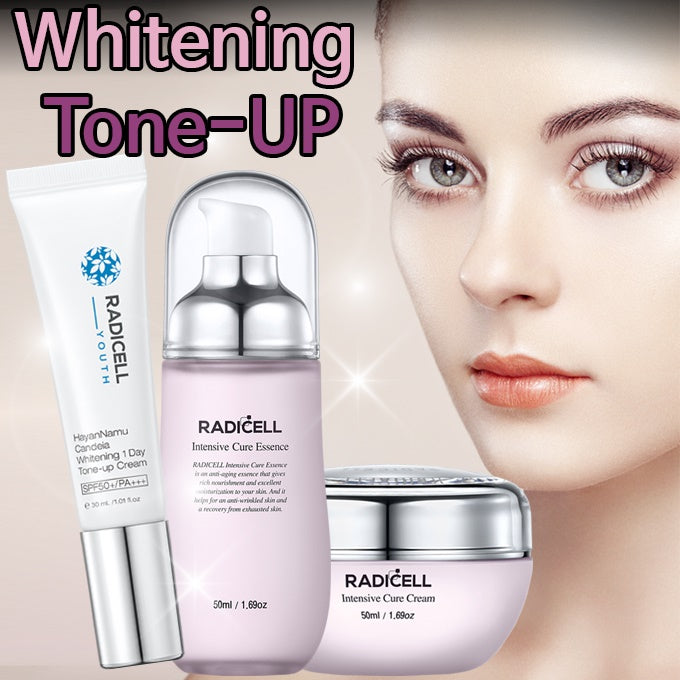 RadiCell Intensive Cure Essence Cream/moisturizing / whitening /Tone-up/UV protection/ Wrinkle care