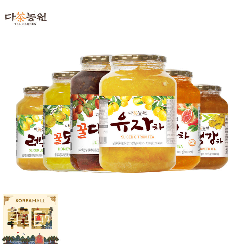 Korean Honey Citron Tea 1kg Korean Drink/Korean Tea/Yuzu/Yujacha